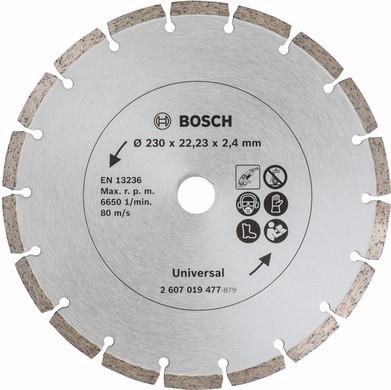 Bosch Diamantschijf 230 mm 2 stuks