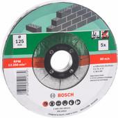 Bosch Slijpschijf Steen 115 mm 5 stuks