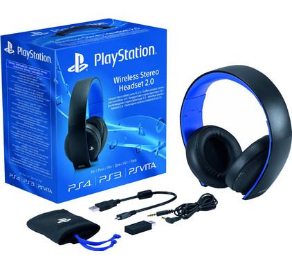 PlayStation Wireless Headset 2.0 Zwart