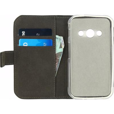 Mobilize Gelly Wallet Book Case Samsung Galaxy Xcover 3 Zwart
