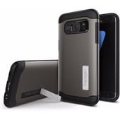 Spigen Slim Armor Samsung Galaxy S7 Edge Grijs