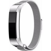 Just in Case Milanees Polsband Fitbit Alta Zilver
