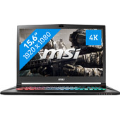 MSI GS63VR 7RF-217BE Stealth Pro 4K Azerty