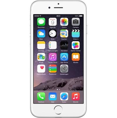 iPhone 6 16GB Zilver Refurbished (Topklasse), Geen tot zeer lichte gebruikssporen|Inclusief originele Apple-accessoires|2 jaar garantieExtra gegevens:Merk: RenewdModel: iPhone 6 16GB Zilver Refurbished (Topklasse)Voorraad: 1Contractduur:  jaarToestelprijs/artikelprijs: 459Levertijd : Voor 23.59 uur besteld, morgen in huis. Zelfs op zondag.