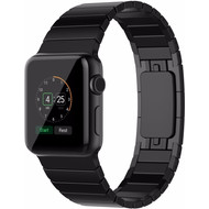 Just in Case Metalen Polsband Apple Watch 42mm Zwart