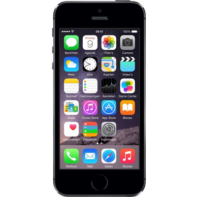 Image of iPhone 5S 16GB Zwart Refurbished (Basisklasse)