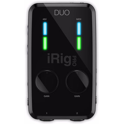 Image of IK Multimedia iRig Pro Duo Studio Suite