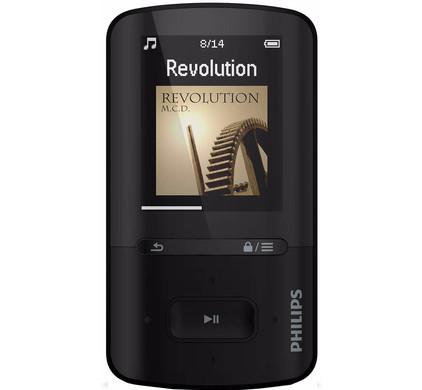 Philips GoGear Vibe 8GB Zwart
