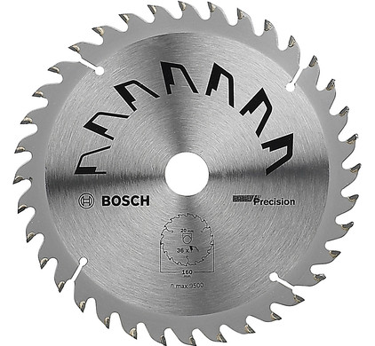 Bosch Zaagblad Precision 160x20x2mm T36