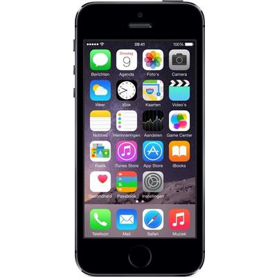 iPhone 5S 32 GB Zwart (2ND), Classificatie: basisklasse|Geen meegeleverde accessoires|1 jaar garantieExtra gegevens:Merk: 2NDModel: iPhone 5S 32 GB Zwart ()Voorraad: 1Contractduur:  jaarToestelprijs/artikelprijs: 309.95Levertijd : Voor 23.59 uur besteld, morgen in huis. Zelfs op zondag.