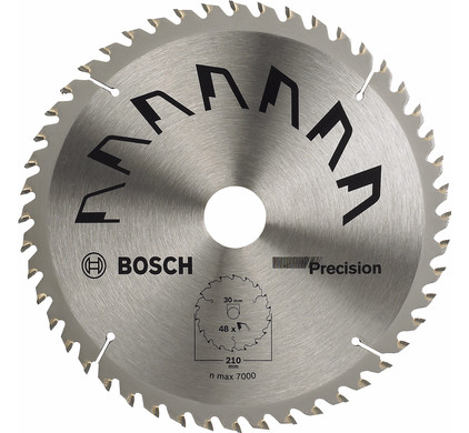 Bosch Zaagblad  Precision 210x30x2mm T48