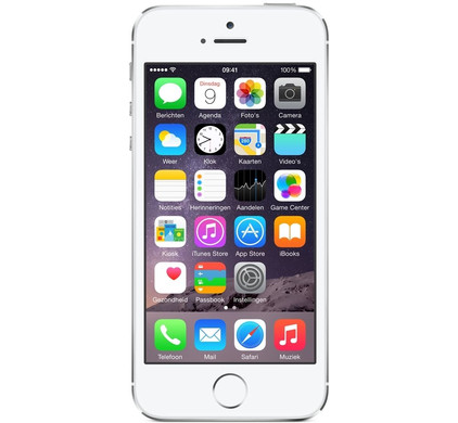 iphone 5s 16gb zilver refurbished middenklasse. Black Bedroom Furniture Sets. Home Design Ideas