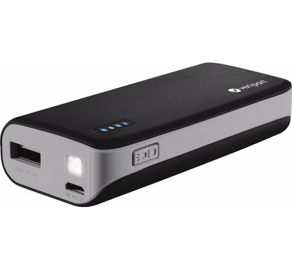 Veripart Powerbank 6000 mAh Zwart