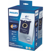 Philips S-Bag FC8021/05 Long Performance (16 stuks)