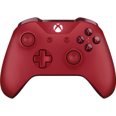 Image of Microsoft Gamepad X-box One, PC Rood