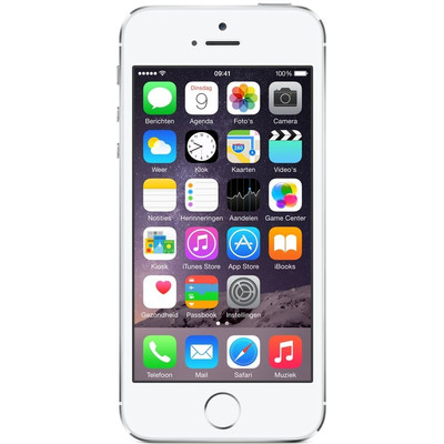 Image of iPhone 5S 64GB Zilver Refurbished (Basisklasse)