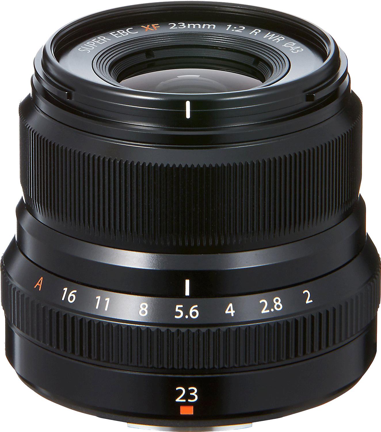 Fujinon XF23mm F2.0 WR Zwart