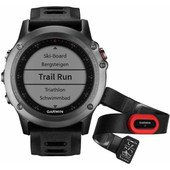Garmin fenix 3 Performer Bundel Grey