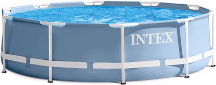 Intex Prism Frame Pool Set 305 X 76 Cm Coolblue Alles