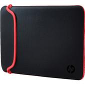 """HP 11.6"""" Chroma Reversible Sleeve Zwart/Rood"""
