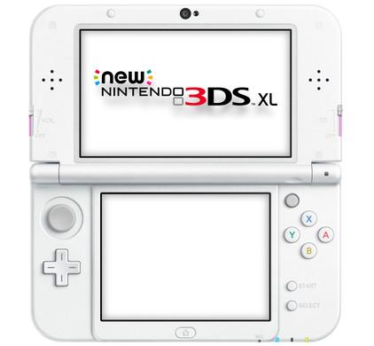 Nintendo New 3DS XL Roze / Wit