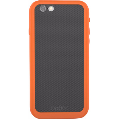 Image of Dog & Bone Wetsuit Topless Apple iPhone 6/6s Back Cover Oranje