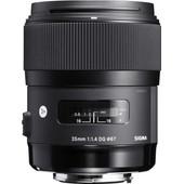 Sigma 35mm f/1.4 ART DG HSM Sony
