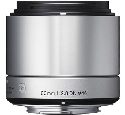 Sigma 60mm f/2.8 Art DN Sony E-mount Zilver