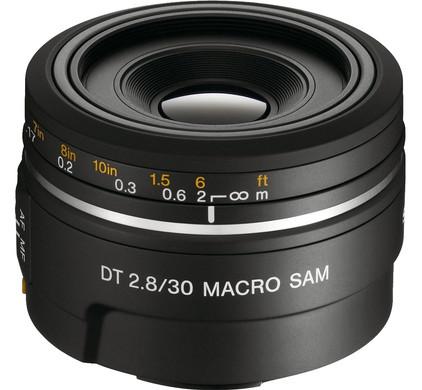 Sony 30mm f/2.8 SAM DT Macro