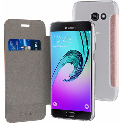 Muvit Folio Samsung Galaxy A5 (2017) Book Case Rose Gold