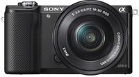 Sony Alpha A5000 + 16-50mm f/3.5-5.6 OSS zwart