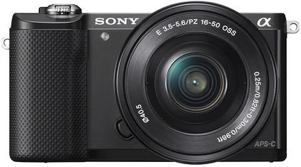 Sony Alpha A5000 Zwart + 16-50mm OSS