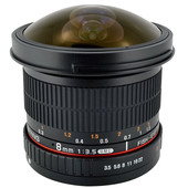 Samyang F 8mm f/3.5 Fisheye MC CSII Nikon