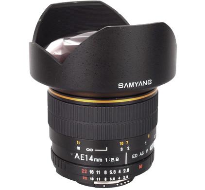 Samyang 14mm f/2.8 Aspherical IF ED UMC Nikon