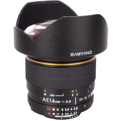 Samyang 14mm f/2.8 Aspherical IF ED UMC Canon