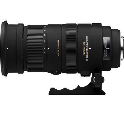 Sigma 50-500mm f/4.5-6.3 DG APO OS HSM Canon