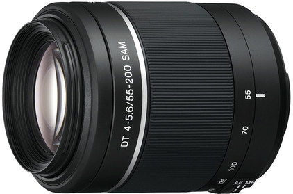 Sony 55-200mm f/4-5.6 SAM DT