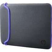 HP 14'' Chroma Reversible Sleeve Grijs/Paars