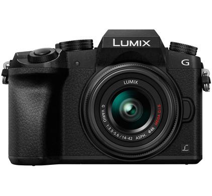 Panasonic Lumix DMC-G7 Zwart + 14-42mm