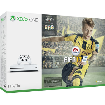 Image of Microsoft Xbox One S 1 TB FIFA 17 bundel