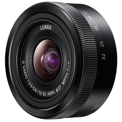 Panasonic Lumix G 12-32mm f/3.5-5.6 zwart