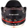 Samyang 7.5mm f/3.5 Micro Four Thirds zwart