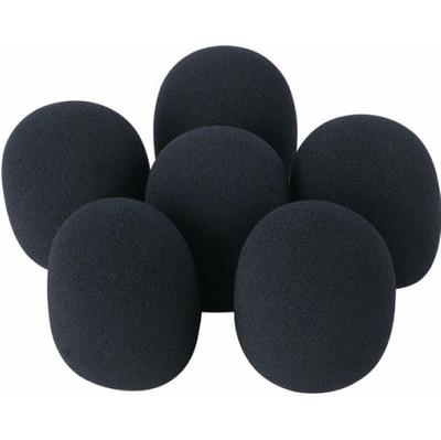 Image of DAP DWS-66 Plopkappen (6 stuks) zwart