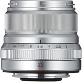 FUJINON XF23mm F2.0 WR Zilver