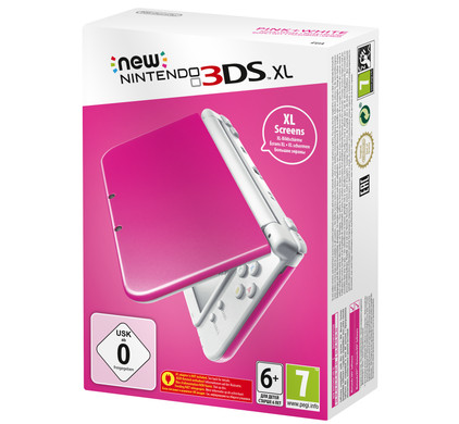 Nintendo New 3DS XL Roze / Wit