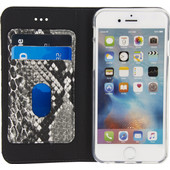 Mobilize SE Premium Gelly Snake Apple iPhone 6/6s Book Case Zwart