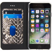 Mobilize SE Premium Gelly Snake Apple iPhone 7 Book Case Bruin