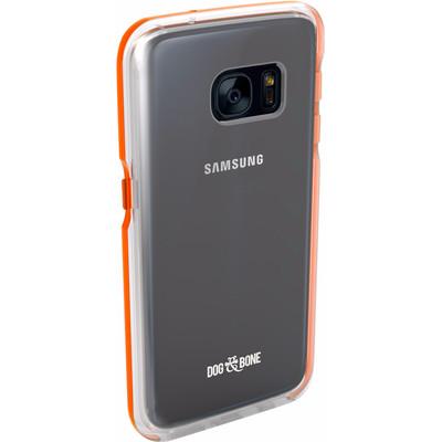 Image of Dog & Bone Splash Samsung Galaxy S7 Back Cover Oranje