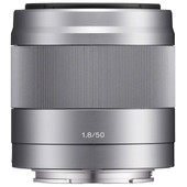 Sony E 50mm f/1.8 OSS Zilver