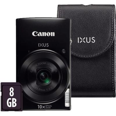 Image of Canon IXUS 182 Zwart Essentials Kit